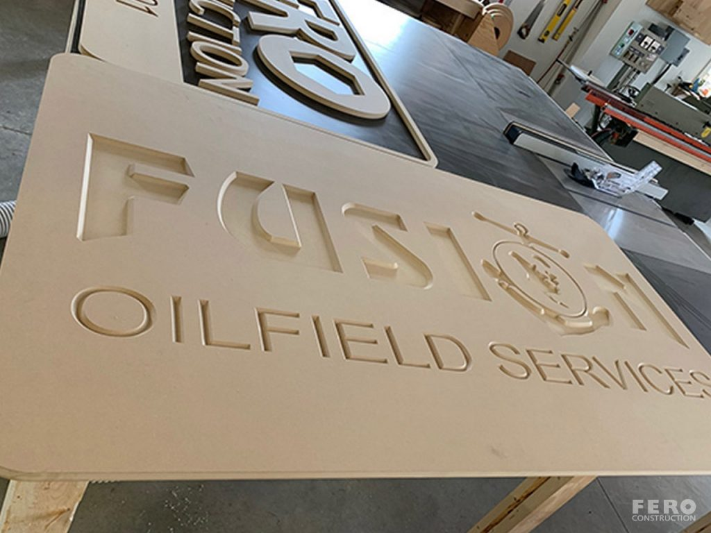 Fero Construction - Custom Signs