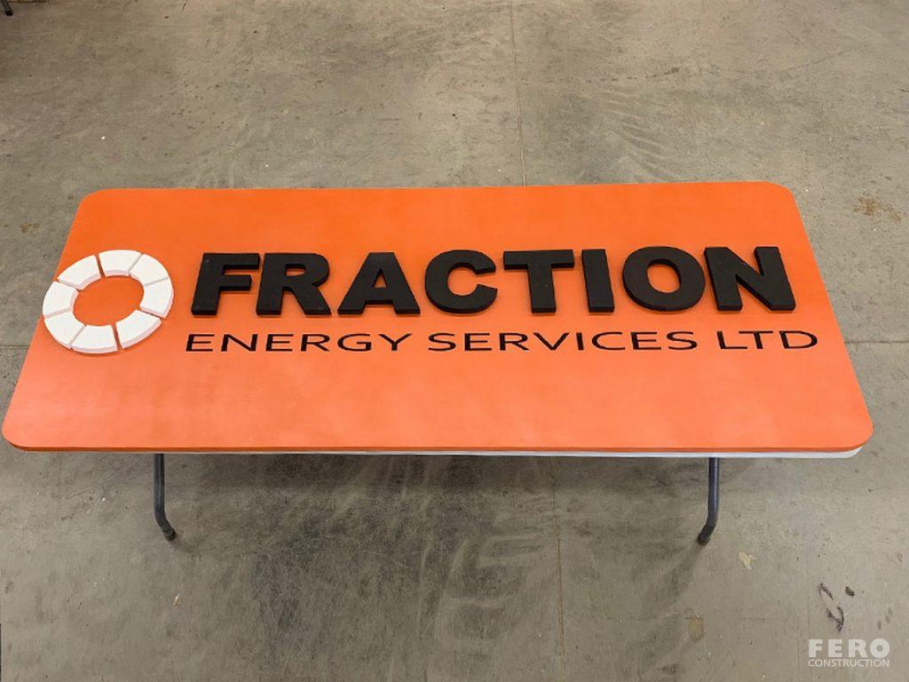 Fero Construction - Custom Signs